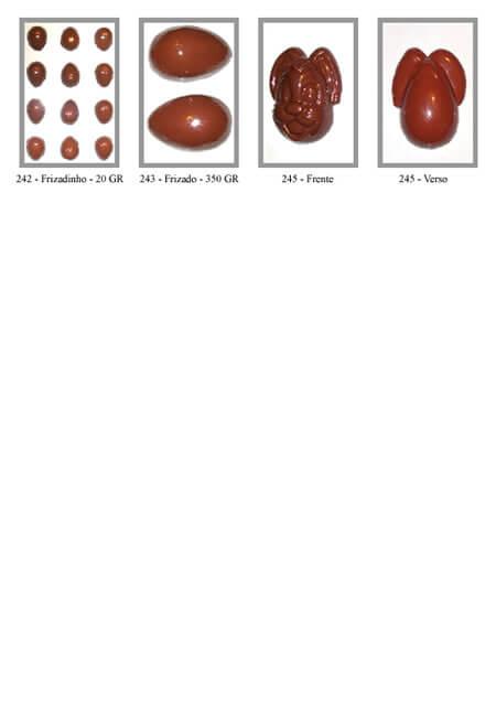 Formas de Ovo de Páscoa