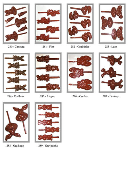 Formas de Pirulito
